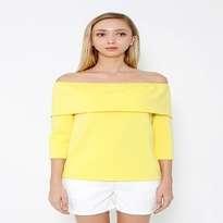 kim. Clarissa Off Shoulder Blouse