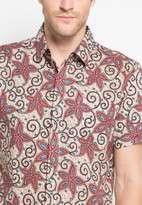 Kemeja Batik Soka Flower