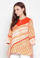 Ayesha List Top - Orange