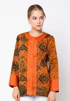 Dobka Lis Blouse - Orange