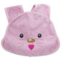 Celemek Bayi/Tatakan Iler Snobby Cat Pink - CLM395
