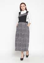 Marsha Overall Dress