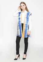 Shibori Vest - Blue
