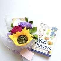 Bunga Flanel Sunflower, Wide Rose and Matilda