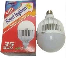 Bolam LED 35 Watt MBS, hemat biaya listrik,hemat energy 80%