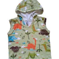 Dino Park Sleeveless Tee Size 6-24 bulan