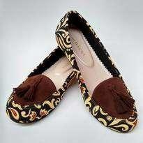 Batik Coklat Emas