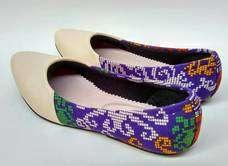 Dayak Ungu Shoes
