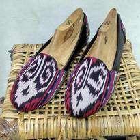 Ikat Dayak Shoes