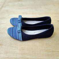 Lurik Biru Shoes