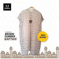 Kaftan Anak - Brown Summer Kaftan