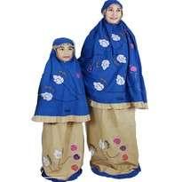 Mukena Fathiya Snowy Size Dewasa (XXXL) & Size S (Anak Umur 2-3th)