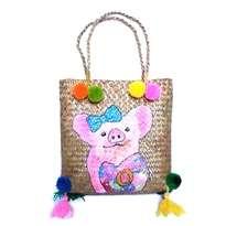Tas Handmade & Handpainted Piggy