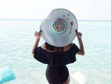 Froot Loops Cereal Summer Hat