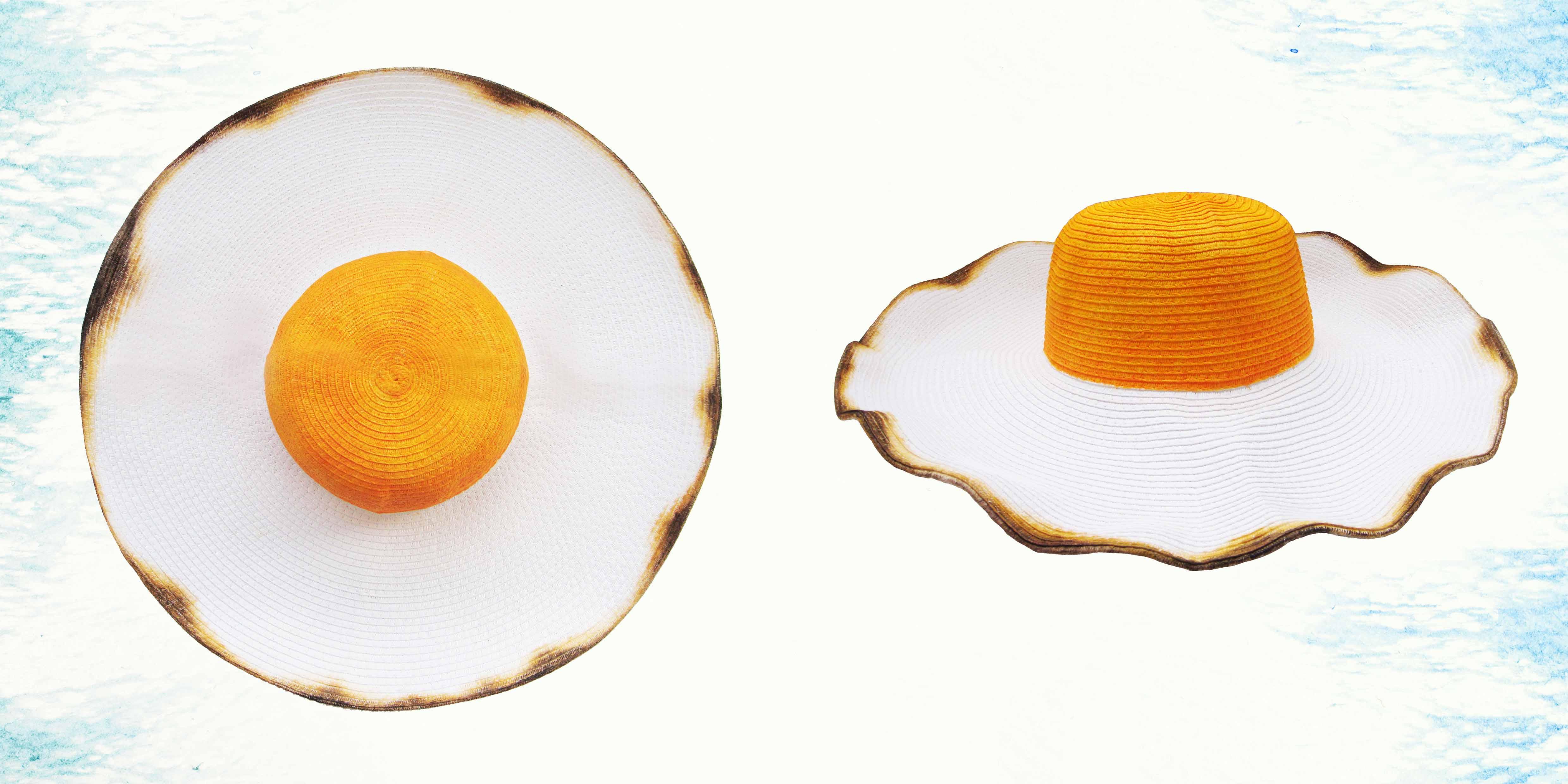 Jual Sunny Side Up Egg Summer Hat | Toko Philotopi | ukmmarket