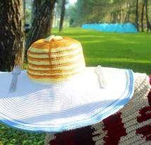 Butter Pancake Summer Hat