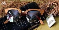 Half Frame JK Eyewear Kacamata Kayu