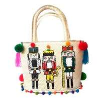 Tas Handmade & Handpainted White Nutcrackers