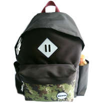 Guienu Tas Ransel Sekolah Backpack Schoolbags Nilon Cordura Army Digital Brown