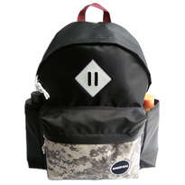 Guienu Tas Ransel Sekolah Backpack Schoolbags Nilon Cordura Army Digital Black