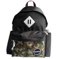 Guienu Tas Ransel Sekolah Backpack Schoolbags Nilon Cordura Army Camo Black
