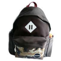 Guienu Tas Ransel Sekolah Backpack Schoolbags Nilon Cordura Army Camo Brown