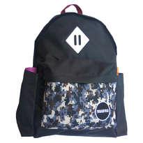 Guienu Tas Ransel Sekolah Backpack Schoolbags Nilon Cordura Army Navy Black