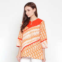 Ayesha List Top - Orange
