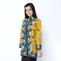 Blouse Jacket Trikot - Yellow