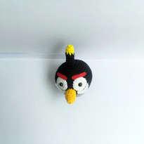 Boneka Rajut - Boom (Angry Bird)