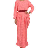 Busana Muslim Jenny Dress Pink