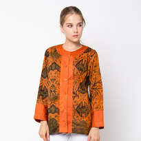Dobka Lis Blouse - Orange