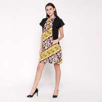 Selena Parang Dress - Yellow