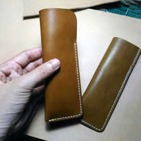 Tempat Pensil Kulit (Leather Pen Case)