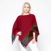 Triangel Tenun Top - Red