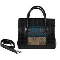 Tas Tangan Hand Bag Meru Style Hitam MR203