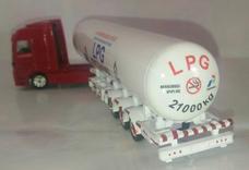miniatur diecast truck pertamina LPG bersubsidi skala 87