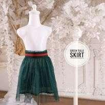 Green Tulle Skirt