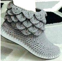 Sepatu sport rajut