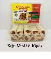 Kebab Frozen HALAL LP-POM MUI NO. 03010017410617 By. Champion Kebab Keju Mini Isi 10pcs