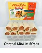 Kebab Frozen HALAL LP-POM MUI NO. 03010017410617 By. Champion Kebab Original Mini Isi 20pcs