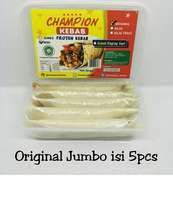 Kebab Frozen HALAL LP-POM MUI NO. 03010017410617 By. Champion Kebab Original Jumbo Isi 5pcs
