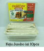 Kebab Frozen HALAL LP-POM MUI NO. 03010017410617 By. Champion Kebab Keju Jumbo isi 10pcs