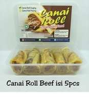 Canai Roll Beef isi 5pcs  Halal LP-POM MUI No. 03010017410617. By Champion Kebab