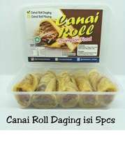 Canai Roll Pisang isi 5pcs Halal LP-POM MUI No. 03010017410617. By Champion Kebab