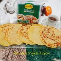 Roti Canai isi 5pcs Halal LP-POM MUI No. 03010017410617. By Champion Kebab