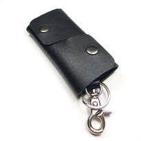 dompet stnk kulit asli sapi handmade model trifold warna hitam