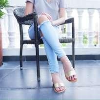 Flat shoes | SANDAL WANITA | BALI | KULIT | WWW.DSANDEK.COM