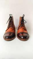 Holarocka Rocka 02 Brown Patina stitchdown stormwelt boots