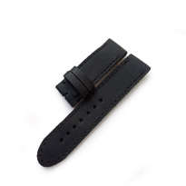 Tali Jam Kulit Asli Handmade Warna Hitam Size 22 Mm (Leather Strap)